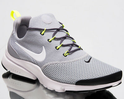 huge discount 20817 2629a Nike Presto Fly Men Air New Shoes Wolf Grey White Black Mens Sneakers 908019 -013