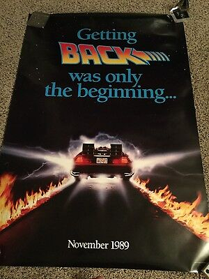 Back To The Future II NSS 27X40 Rolled Double-Sided 1-Sheet Poster