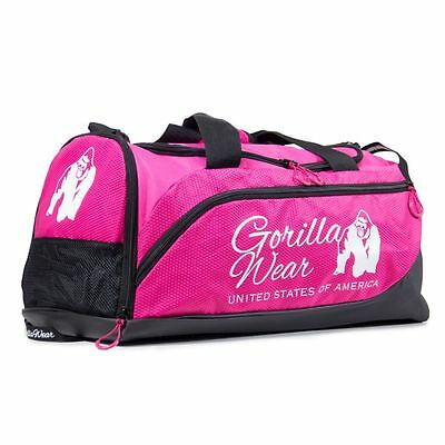Gorilla Wear Santa Rosa Gym Bag Pink/Black