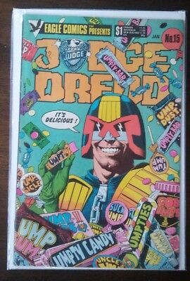 Judge Dredd #15 FN; Eagle comics UMPTY-BAR