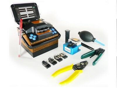 Fusion splicer model PROLITE-41 from PROMAX is one of the smallest and lightest