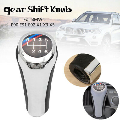 1*6 Speed Gear Shift Knob For BMW 1 3 5 6 Series E90 E91 E92 F30 Z5 F20 M3 M4 M5
