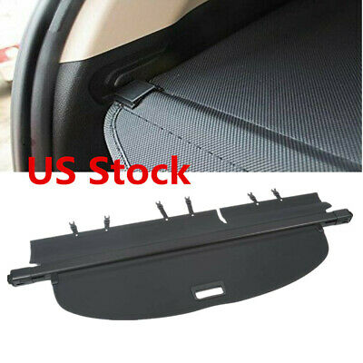 For Nissan Rogue 2014-2018 S SV SL Retractable Trunk Cargo Cover Security Shield