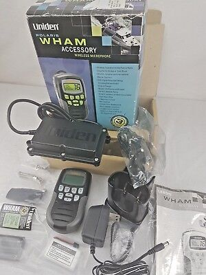 Uniden WHAM Accessory Wireless Microphone for the POLARIS and OCEANUS Radio BLK