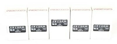 Lot Of 5 Nib Crydom D2410 Solid State Relays 240V, 10A