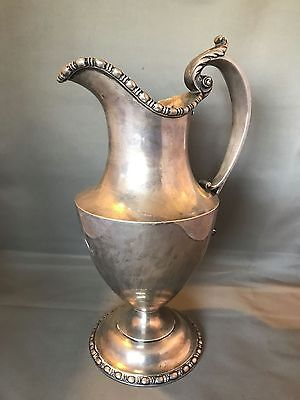 AMERICAN STERLING SILVER WATER PITCHER GOODNOW & JENKS 1893-1905 Massive!