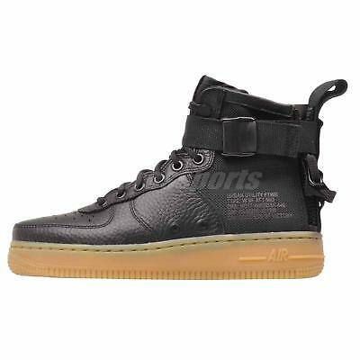 Nike Wmns SF AF1 Mid Casual Womens Air Force 1 Shoes Black AA3966-002