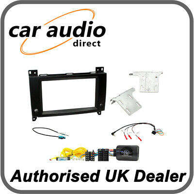 Connects2 CTKMB19 Mercedes Vito W447 2015> Double Din Radio Installation Kit