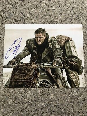 Tom Hardy Signed 8x10 Photo Original Autographed w/COA Mad Max Batman
