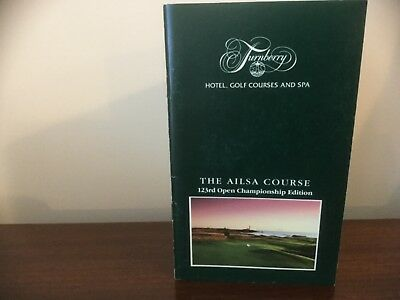 123rd British Open Golf at Turnberry Ailsa Course Strokesaver 1994