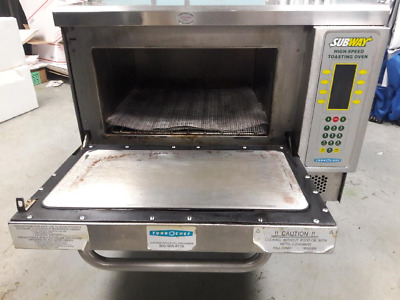TURBOCHEF TORNADO NGC COMMERCIAL RAPID COOK OVEN MICROWAVE Turbo Ovens Subway