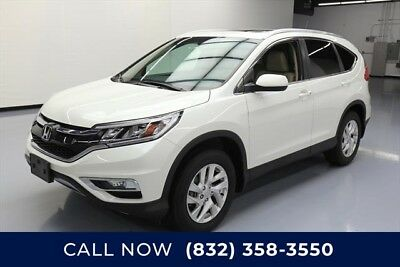 Honda CR-V AWD EX-L 4dr SUV Texas Direct Auto 2015 AWD EX-L 4dr SUV Used 2.4L I4 16V Automatic AWD SUV