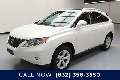 Lexus RX  Texas Direct Auto 2012 Used 3.5L V6 24V Automatic AWD SUV