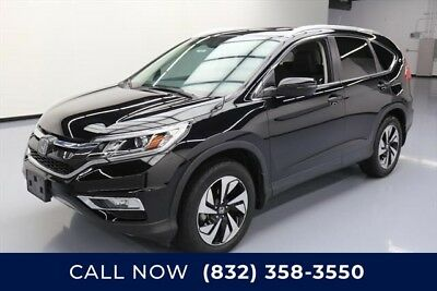 Honda CR-V Touring Texas Direct Auto 2015 Touring Used 2.4L I4 16V Automatic FWD SUV Moonroof