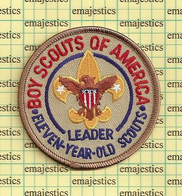 Bsa Lds Mormon Adult Position 11 Year Old Scout Leader Church Patch Mint