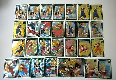 Lot de 29 cartes dragon ball z Spécial collection