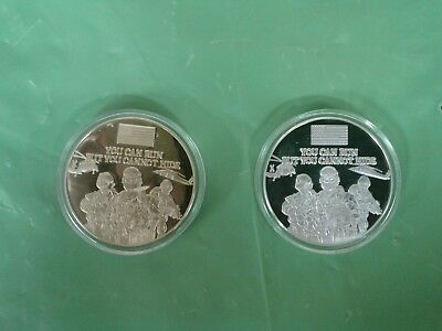 "9/11 commemorative coint set ""justice has been done"" *19071"
