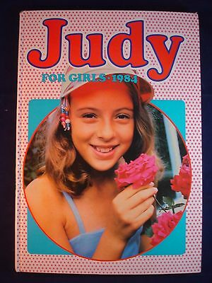 Judy Annual 1984 Vintage Girls Hardback Book