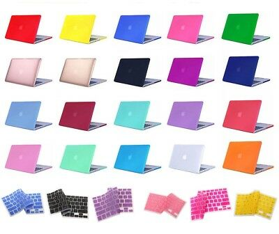 """MacBook Pro 13"""" 15"""" Case 2017 2016 Touch Bar A1706 A1707 A1708 Soft Touch Cover"""