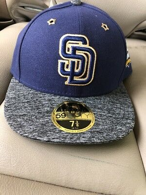 fe9432ab033 San Diego Padres New Era 59Fifty 2016 All Star Game Fitted Hat Cap Size 7 3