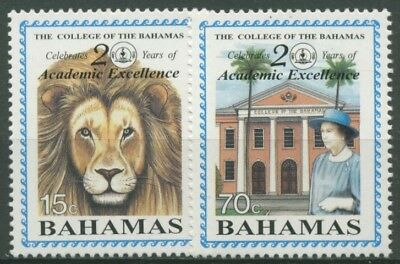 "Bahamas 1995 20 Jahre ""Collage of the Bahamas"" 859/60 postfrisch"