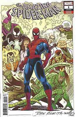 AMAZING SPIDERMAN 1 vol 5 2018 1:100 JOHN ROMITA SR INCENTIVE VARIANT NM