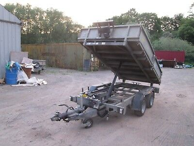 Ifor Williams Tt105 Twin Axle Electric Tipping Trailer