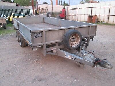 Ifor Williams Lm146 Twin Axle Drop Side Trailer