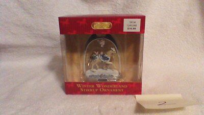 Breyer 2017 Holiday Winter Wonderland Stirrup Ornament NIB Horse & Owl #2