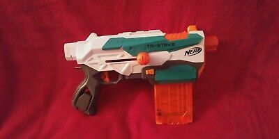 Nerf Modulus Tri-Strike Blaster! Great Condition!
