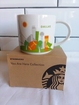 """Starbucks Tasse DALLAS aus USA, """"You are here Collection""""  NEU in OVP + SKU"""