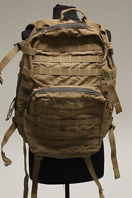 Military Issued USMC Marines FILBE 3 Day Assault Pack, Coyote, Grade D