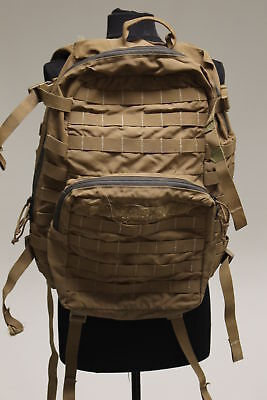 Military Issued USMC Marines FILBE 3 Day Assault Pack, Coyote, Grade F