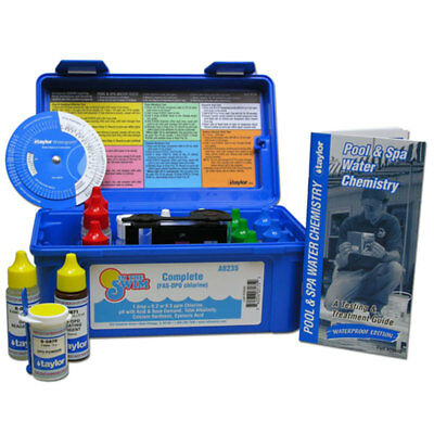 ITS Complete FAS-DPD Commercial Swimming Pool Spa Test Kit By Taylor K-2006