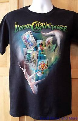 """INSANE CLOWN POSSE T-Shirt  """"Cards""""   Front and Back Design  Size:Small      NEW"""