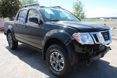 2016 Nissan Frontier PRO-4X Crew Cab 4WD 2016 Nissan Frontier 4WD! Off-Road Capable! Salvage Repairable! Must See!