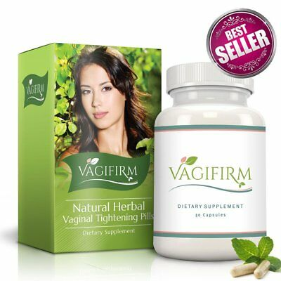 Vagifirm Vaginal Tightening Pills - All Natural Herbal Supplement for Women's Se