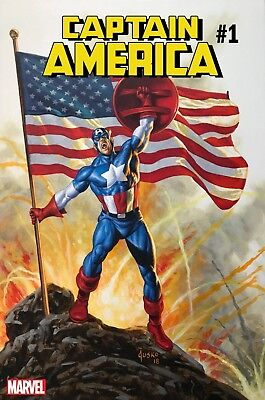 CAPTAIN AMERICA 1 vol 9 2018 JOE JUSKO VARIANT NM PRE-SALE 7/4