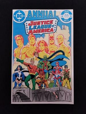 Justice League of America #2 Annual NM 1984 JLA 1st Appearance Vibe & Gypsy