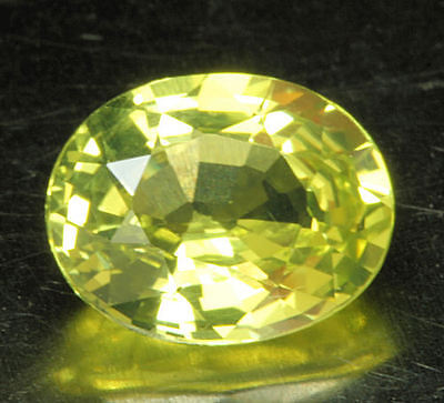 CHRYSOBERYLL        tolle Farbe und Feuer      1,37 ct