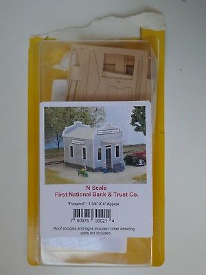 North Eastern Scale models N scale First National Bank and Trust Co