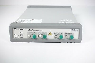 Keysight Used N7714A Four-Port Tunable Laser Source Opt. 072, 222 (Agilent)