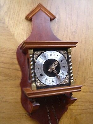 Clock     Dutch  box For Spares