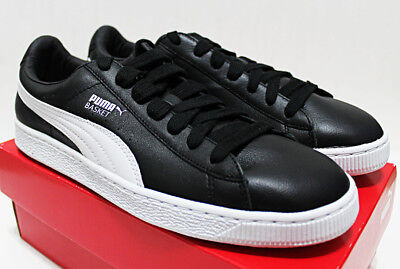 bbf1169d733 NIB PUMA Basket Classic Leather 10.5 Black-White Sneakers Clyde Court  Disrupt