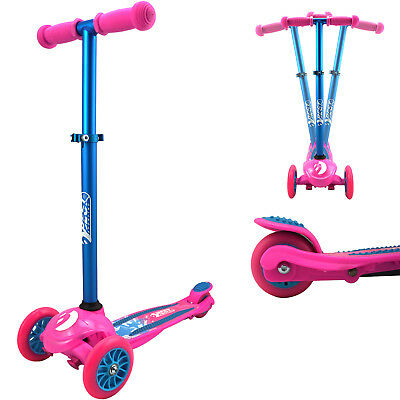 Freizeit Scooter Twist Kinder Roller 3-Räder Tretroller Cityroller Scooter