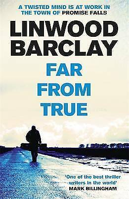 """""""AS NEW"""" Far From True: (Promise Falls Trilogy Book 2), Barclay, Linwood, Book"""