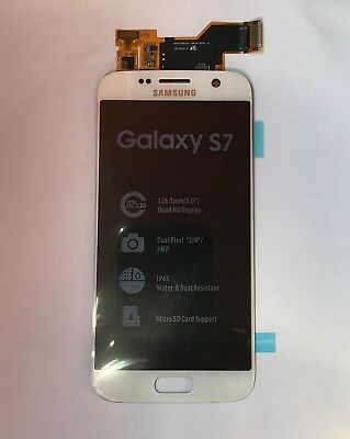 DISPLAY LCD + TOUCH SCREEN SAMSUNG GALAXY S7 G930-930F White