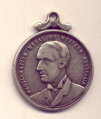 Western Australia: Silver  Proclamation Medal  1890     No  Reserve