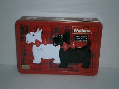 T1846 WALKERS Empty Scotti Biscuit Tin 220 G