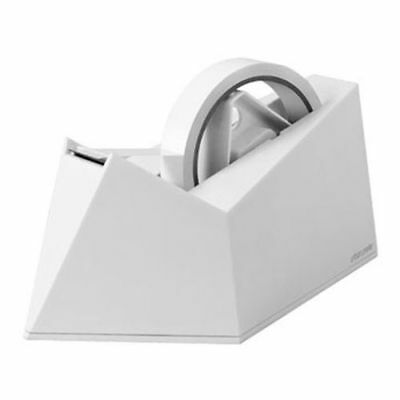 New Urban Prefer Desk Top Dual Core Tape Dispenser White 1 Free Roll of Tape